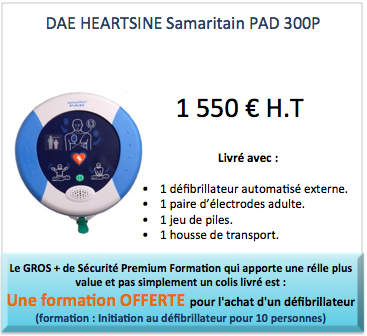 heartsine defibrion pad 300
