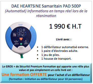 heartsine defibrion pad 500