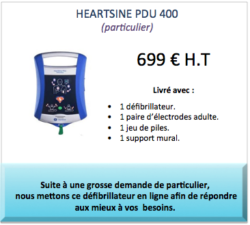 heartsine pdu 400 for